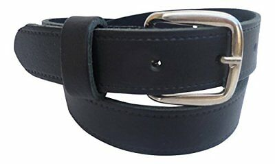 Boysreal Leather Belt. Children sleather Dress School Belt Sizes 18  - 30  30  W