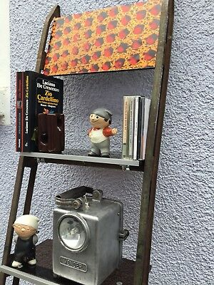 Industriedesign  Bücherregal Leiter  Upcycling Vintage