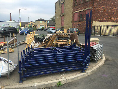 Post pallet,metal Steel Stillage, stackable, HD Free collection & local delivery