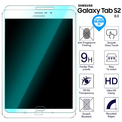 For Samsung Galaxy Tab S2 8.0 Tempered Glass Screen Protector Film SM T710 T715