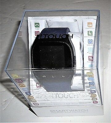 """itouch Black ITC3360BK590-273 """"18"""" Fuctions Smart Watch BRAND NEW In Sealed Case"""