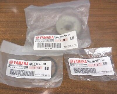 Yamaha TRIM CYLINDER SCREW WITH O-RING AND DUST SEAL SET 6H1-43821-11-00