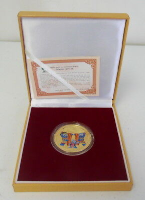 2010 Oriental Crown Commemorative Shanghai China Expo Medallion Coin ~ Free Ship