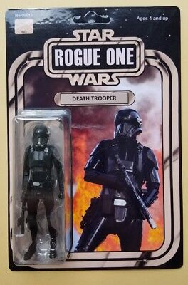 Custom Vintage Death Trooper Action Figure 3.75in Star Wars Rogue One