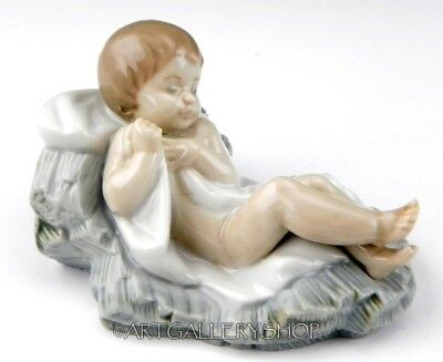 Lladro Figurine CHRISTMAS NATIVITY BABY JESUS HOLY FAMILY #5478 Retired Mint