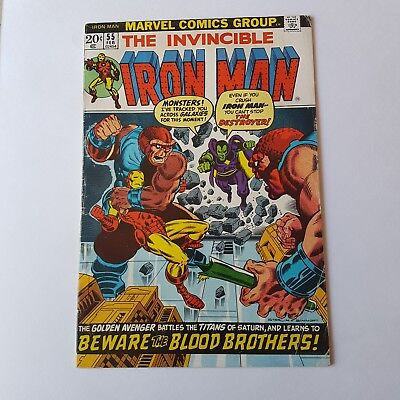 Iron man Comic 55