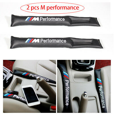 2x Car/SUV Seat Cover Gap Filler Spacer Holster Blocker For BMW Drop Stop Pad