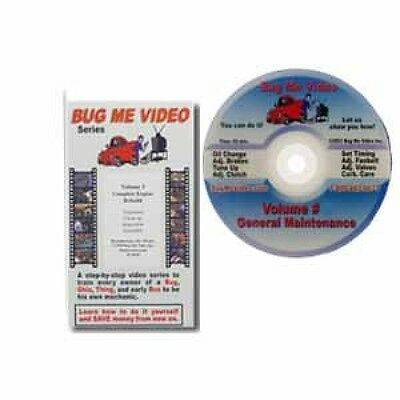 VW Repair Bug Me Video Type 1 Complete Engine Rebuild Volume 3 # CPR012192
