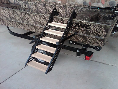 WAG Dog Boarding Steps Hunting/Fishing Boats ( Ladders Ramps Platforms )