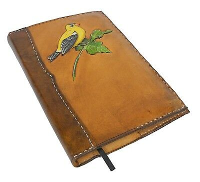 Custom Leather Journal Cover by Mike Lowe - Mount Airy, North Carolina