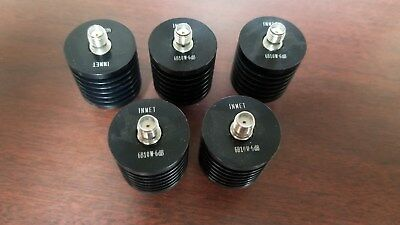 INMET 6B10W-6dB High Power SMA 6dB Attenuator Lot of 5