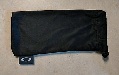 Oakley Soft Microfiber Pouch For Storage & Cleaning | New Authentic Bag Black