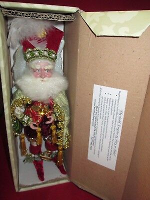 Santa Fairy  By Mark Roberts Limited Edition RARE IN BOX W TAGS