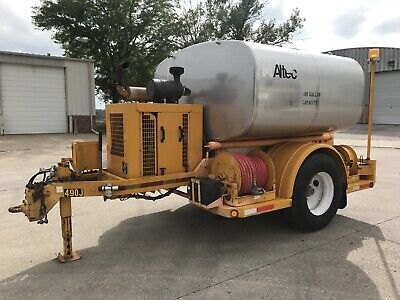 Altec HLIW-1600T Trailer Mounted Insulator Diesel Power Pressure Washer