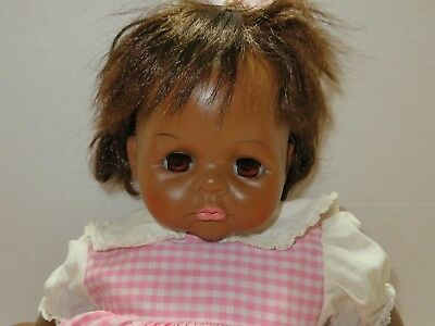 """Madame Alexander -  Beautiful 18"""" African American Pussy Cat Baby Doll"""