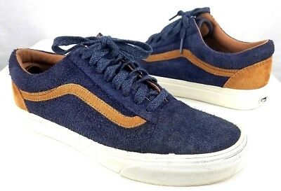 24435b893c1 VANS CUSTOMS ULTRACUSH - Old Skool Blue Suede Sneakers Mens Size 7 Skate  Shoes