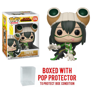 Pop Animation : My Hero Academia Wave 2 : TSUYU #374 Vinyl w/Case