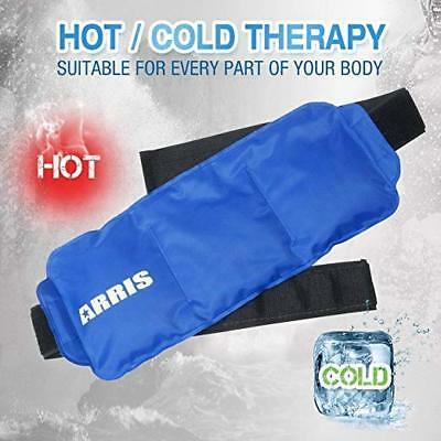 ARRIS Reusable Hot Cold Gel Ice Pack Wraps Heat Therapy First Aid Pain Relief