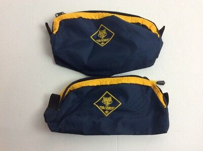 Cub Scouts Fanny Pack Boy Scouts Waist Belt Pouch Hiking Bag Blue Yellow Gold