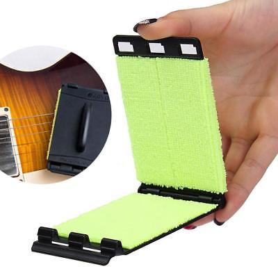 String Scrubber Electric Guitar Bass Fingerboard Rub Maintenance Cleaning Tool