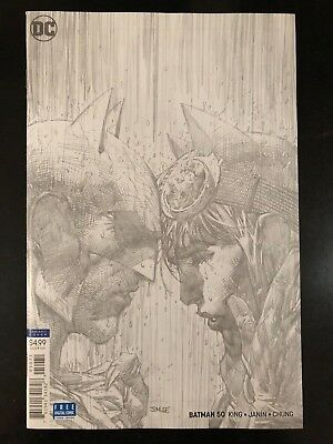 🔥 Batman #50 | Jim Lee 1:100 Sketch Variant Edition | NM HOT 🔥