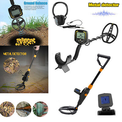 Deep Sensitive Metal Detector Search Gold Digger Treasure Hunter Waterproof