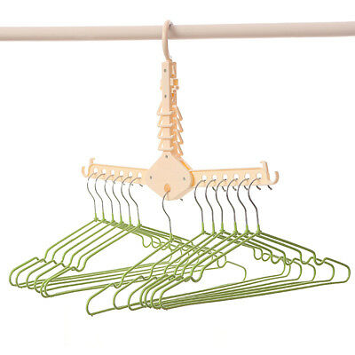 Magic Hanger Clothes Folding Rack Organizer Foldable Multifunction Storage RM6