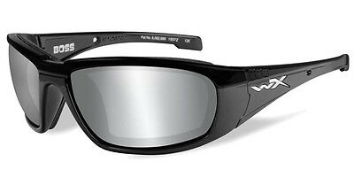 HARLEY-DAVIDSON Wiley X Cruise 2 SILVER FLASH MOTO OCCHIALI Gunmetal GREY M//L