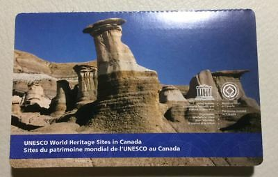 ERROR Canada 2015 UNESCO World Heritage Sites 6 Stamps Booklet CP recalled