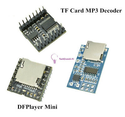 TF Card U Disk WMV MP3 Decoder Player Audio Voice Module Arduino DFPlayer Mini
