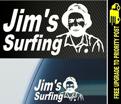 Surfboard SURF surfing car decal funny