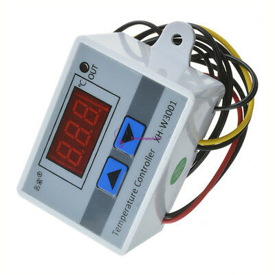 XH-W3001 220V 10A Digital LED Temperature Controller Thermostat Control Switch