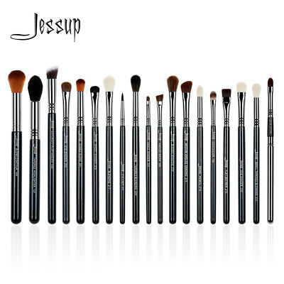 Jessup 19Pcs Pro Eye Make Up Brush Set Lip Eyeshadow Brow Blending Best Copper