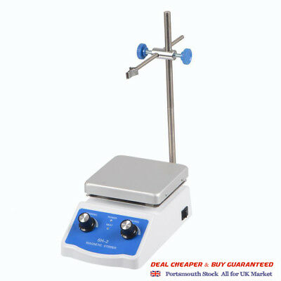 "Hug Flight Magnetic Stirrer Mixer Hotplate 4.72*4.72"" Top Plate with Heating"