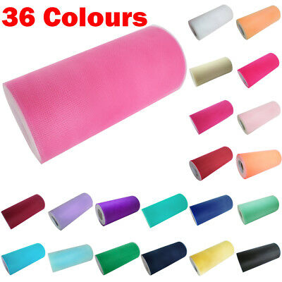"3 Packs Tutu Tulle Roll 6"" wide x 100/25yds Soft Netting Fabric Nylon Wedding"