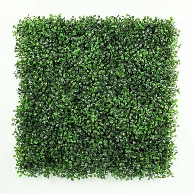"""Artificial Shrubs Boxwood Hedges Panels Decorative Privacy Fence 20"""" x 20"""""""