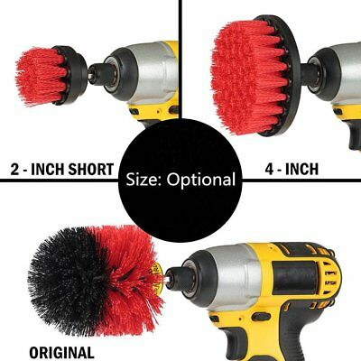 3pcs/set 2/ 3.5/ 4 inch Tile Grout Power Scrubber Cleaning Drill Brush T TD