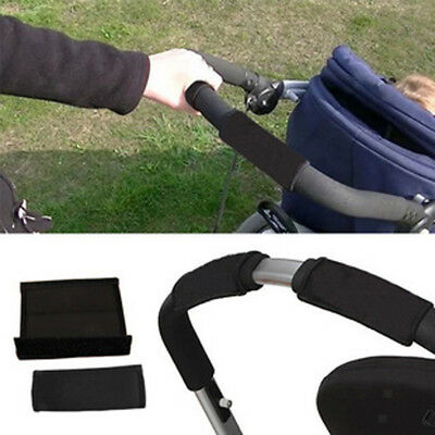 1 Pair Baby Pram Stroller Accessories Arm Handle Protective Case Cover