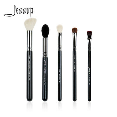 Jessup Pro Make UP Brush Set 5Pcs Eye Shader Blending Definer Contour Highlight