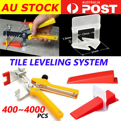 400-4000x Tile Leveling System Clips Levelling Spacer Tiling Tool Floor Wall 1.5