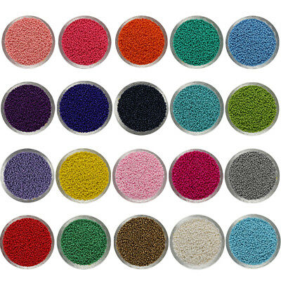 Wholesale 1000pcs 2mm DIY Lots Charm Glass Seed beads Jewelry Making Craft 2018