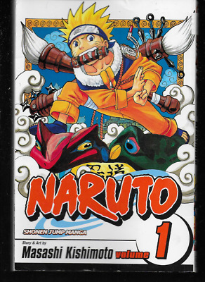 Image result for naruto vol 1