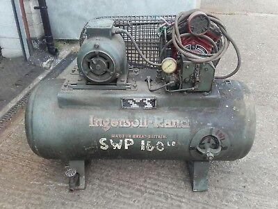 Ingersoll rand air compressor 3 phase