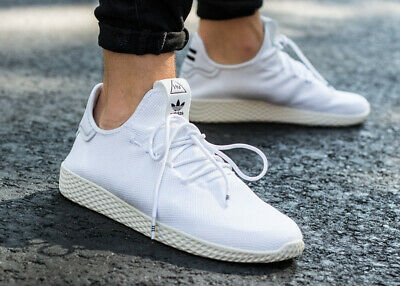 ADIDAS PHARRELL WILLIAMS TENNIS HU Sneaker Turnschuhe Originals Weiß Neu B41792