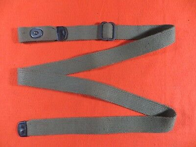 M1 Carbine D-Tip Sling - OD Green Canvas Sling - (1360)