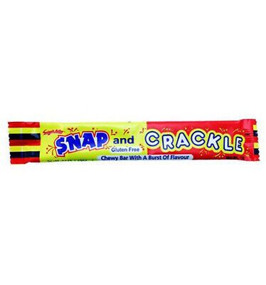 Swizzel Snap And Crackle Chew Bar 19gm x 60