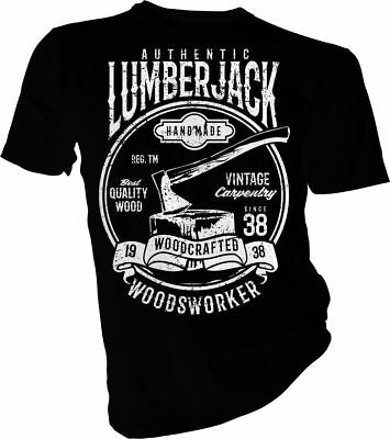 Lumberjack Wood Crafted, Axe, Wood Craft, Unisex & Kids t-Shirt