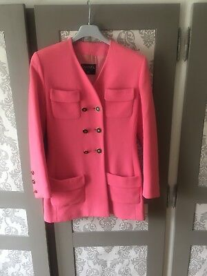 Veste cintree rose