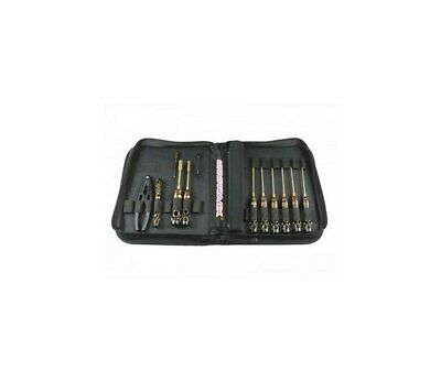 Arrowmax AM-199441 AM Toolset For 1:10 Offroad (12Pcs) Tools Bag Black Golden