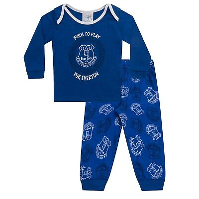 Everton FC Official Football Gift Boys Kids Baby Pyjamas